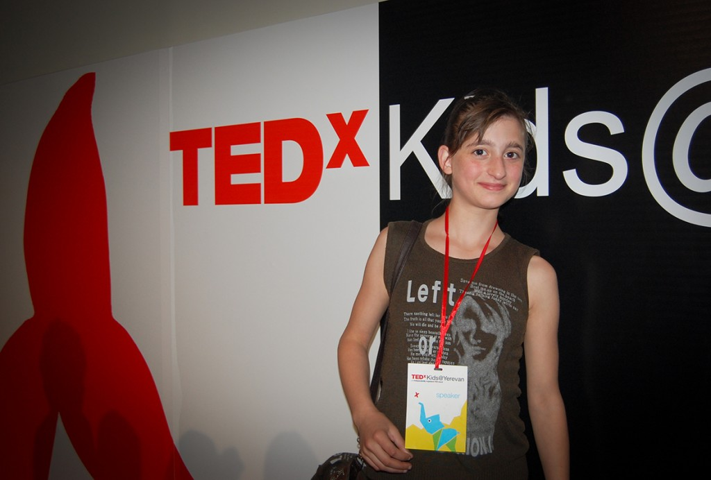 s130599-1: Knock, and doors will open, talk and they will listen; Julia's inspiring TED talk