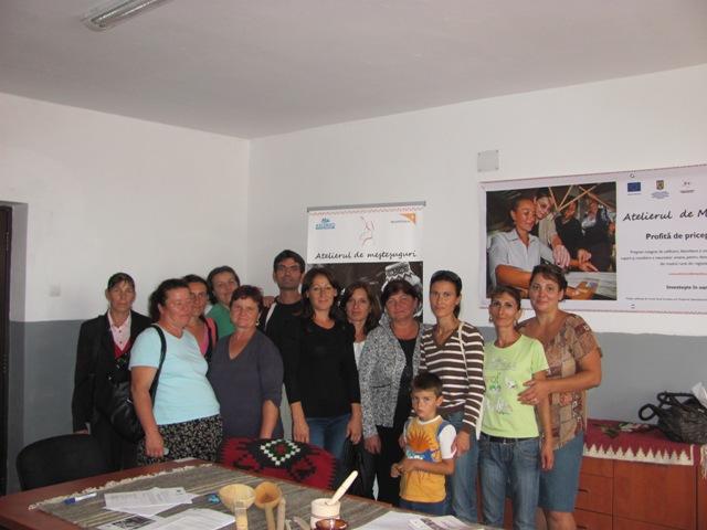 Membrii Asociatiei Mestesugarilor Olteni si-au unit fortele pentru a dona un viitor mai bun unui copil.