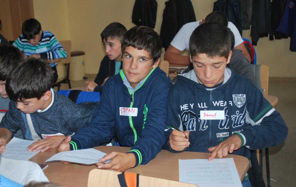 Elevii Scolii Generale din comuna Dridu au beneficiat de sesiuni informative despre diverse aspecte legate de dobandirea unui loc de munca.
