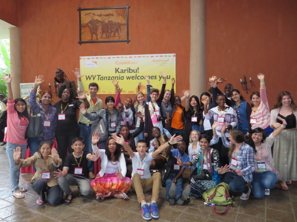 Lucia, reprezentanta Romaniei la Conferinta Trianuala World Vision