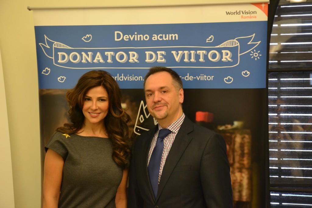 Oana Cuzino este noul ambasador al World Vision Romania!