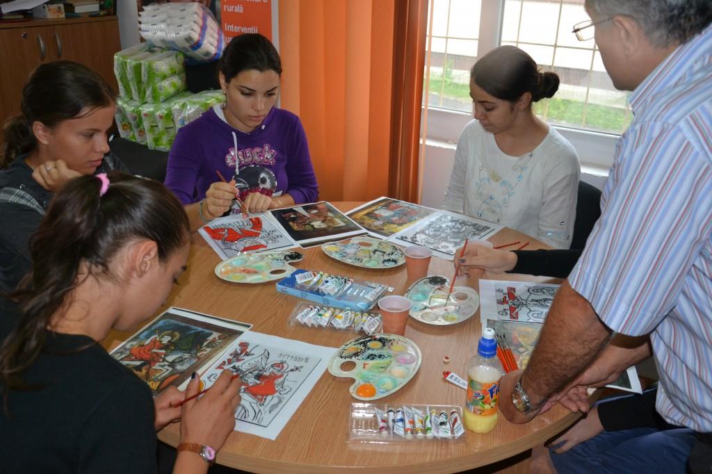 Cluburi de initiativa comunitara pentru copii si tineri