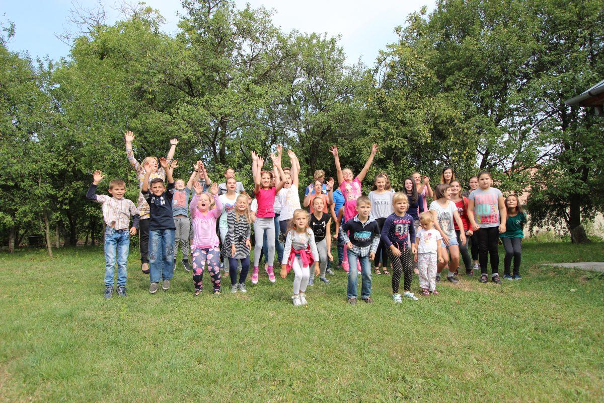 Peste 40 de copii din jud.Cluj au învăţat mai multe despre valorile creştine într-o tabară de dezvoltare spirituală