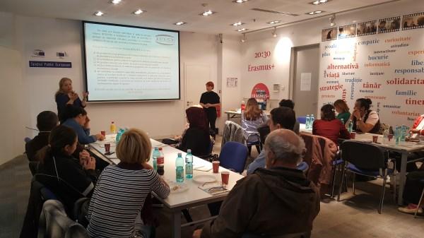 Workshop: Jurnaliști – Persoane afectate de sărăcie