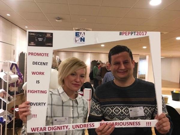 Întâlnirea Anuală a Persoanelor care Experimentează Sărăcia, Bruxelles, 9-10 noiembrie 2017